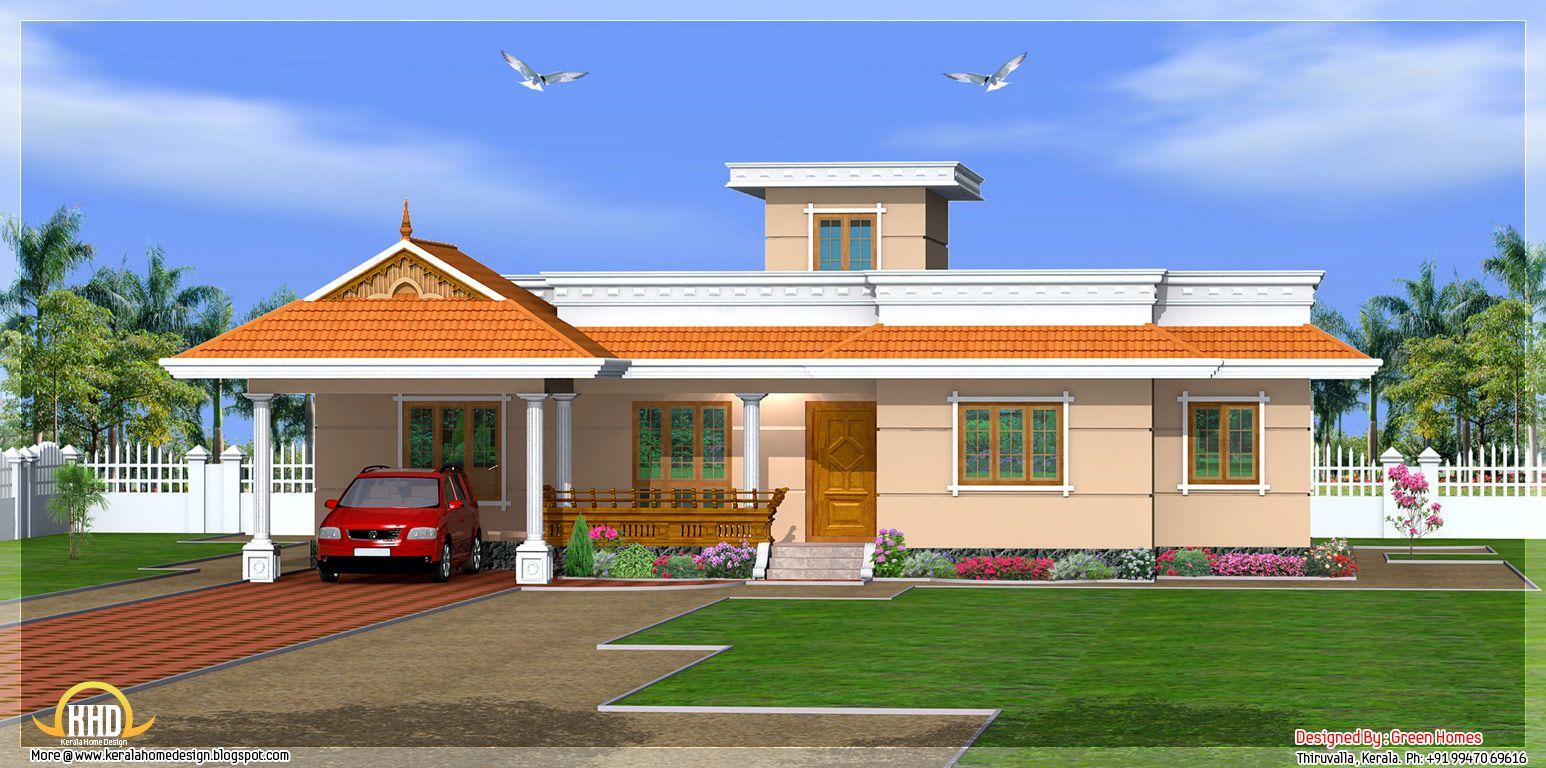 Kerala Style Story House Design Green Homes Thiruvalla Kerala Sq