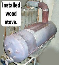 Convert a Hot Water Heater Into a Wood Stove | Wood ...