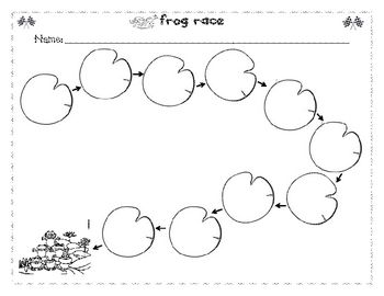 Ordinal Numbers with fruit, characters, bugs, and frogs