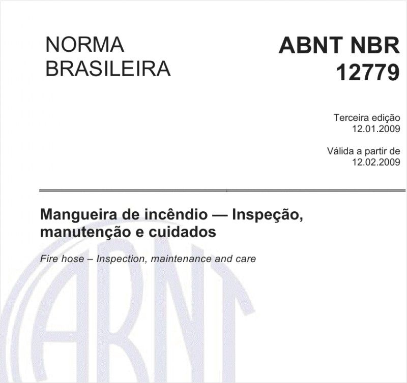 NBR 12779 DE 2009 EBOOK