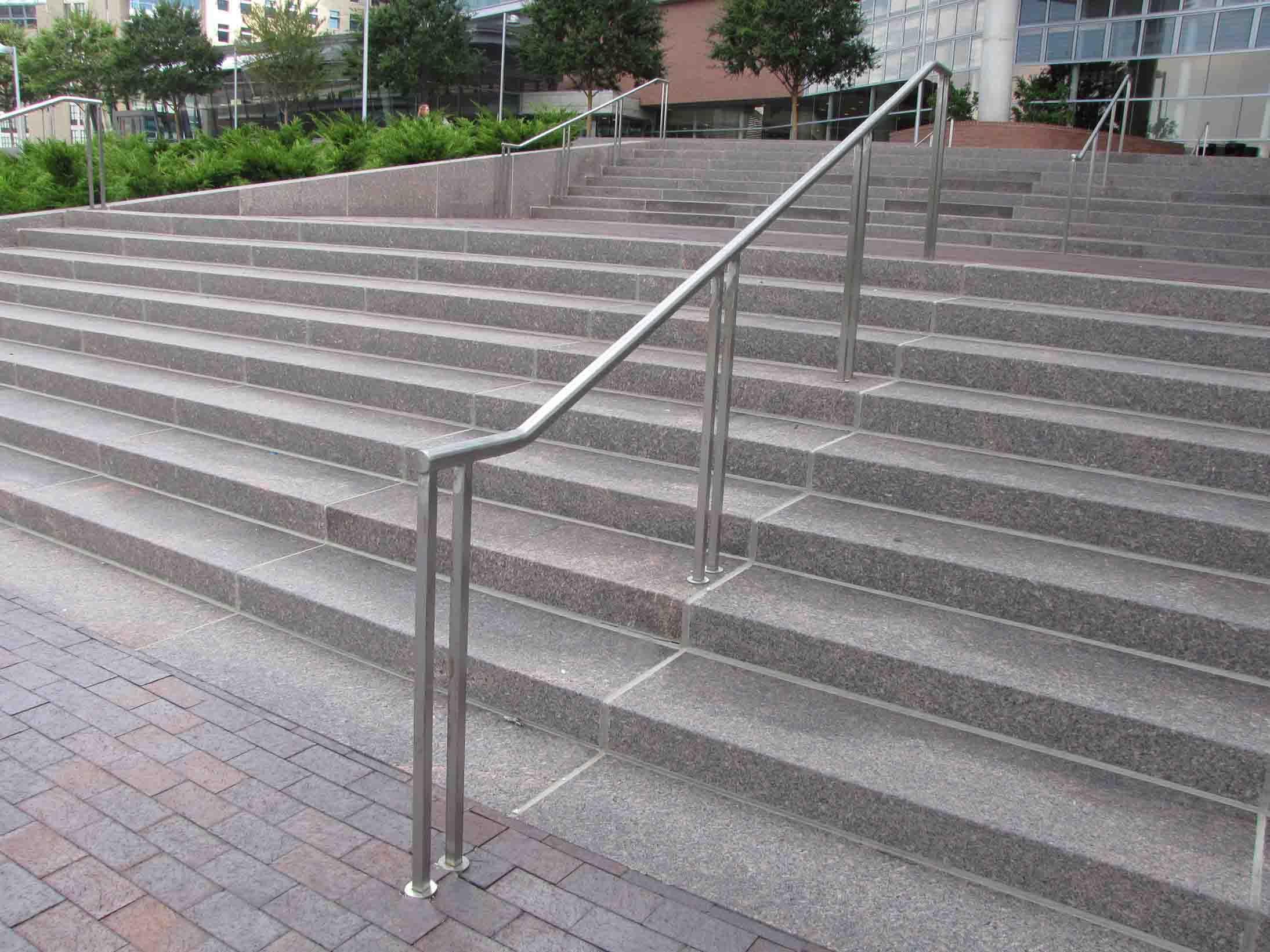 handrails for outside steps