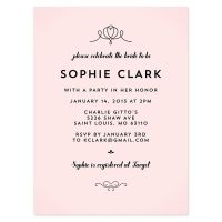 Bridal Shower Invitation Wording References