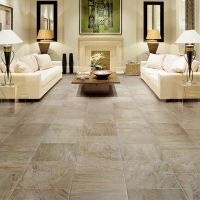 Family Room: This floor tile and pattern...Palisades ...