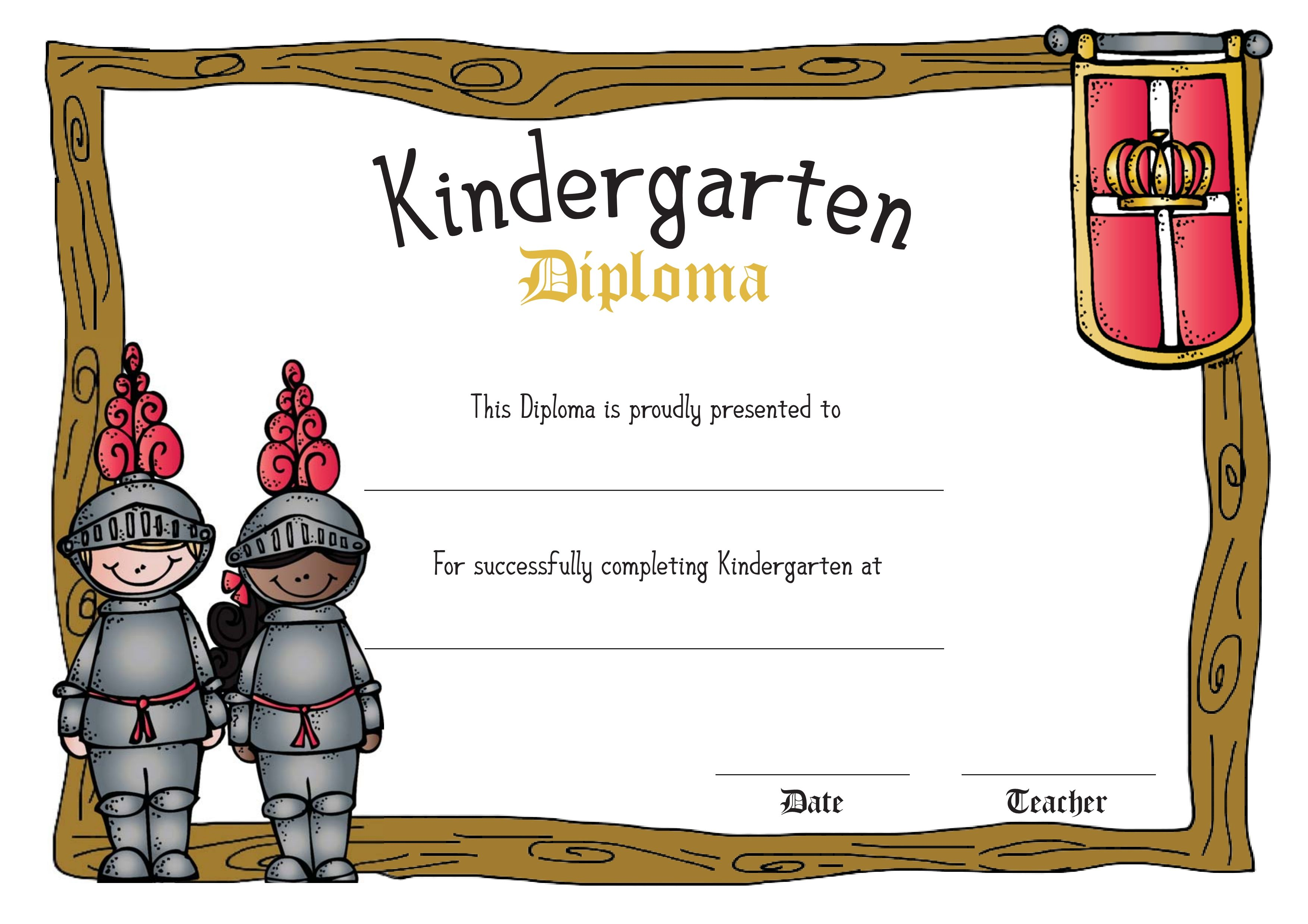 Free Me Val Themed Diplomas For Children In