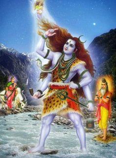 Image result for ganga and shiva
