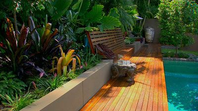 Tropical Garden Designs For Small Gardens – Thorplc Com Pool