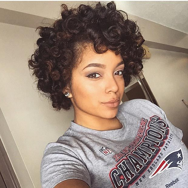 Very Short Hairstyles For Black Women Page 1
