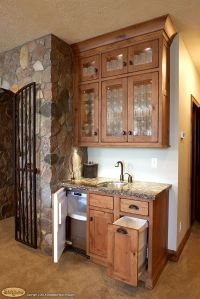 Wet Bar Cabinets | Cabinets: Showplace cabinetry creates a ...