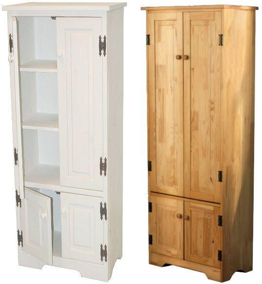 storage cabinets  Tall kitchen storage cabinet pictured