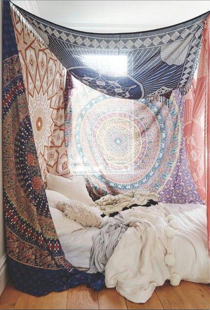 bogo tapestries, mandala tapestry, bedroom decor, tapestry | a