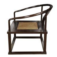Pair of Chinese Roundback Meditation Chairs | Meditation ...