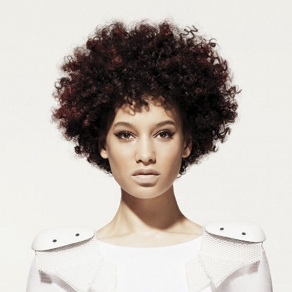 Afro Short Curly Hairstyles For Women For Women Woman