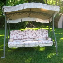 Swing Cushion Covers End Of Summer Sunbrella Fabric