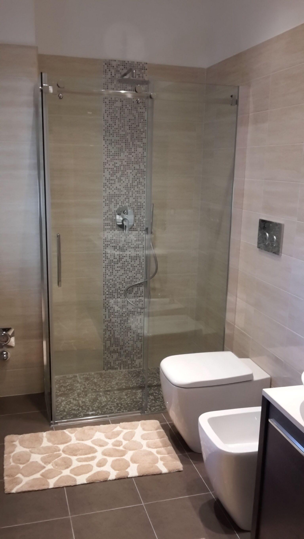 Piatto doccia in mosaico in muratura wwwedilgrippacom  Ristrutturazioni by EdilGrippa