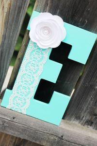 Letter E - Baby Boy - Nursery Decor - Aqua - E Name ...