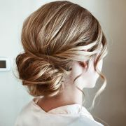 classic wedding updo hairstyle