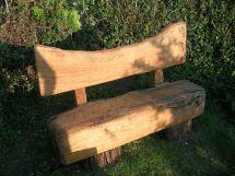 Vintage Wooden Garden Benches - Modern Patio & Outdoor