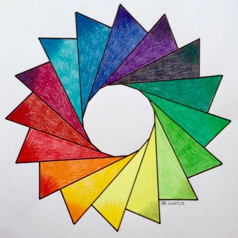 Regolo54 Sangaku Geometry Symmetry Patterns Math