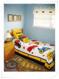 Construction theme toddler bedroom - Boys' Room Designs ...