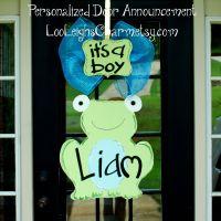 Baby Hospital Door Decoration, Baby Door Hanger, Baby ...