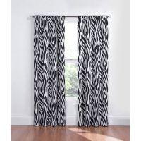 Zebra Curtains on Pinterest | Zebra Bedroom Decorations ...