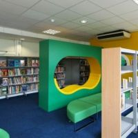 Cool spaces for reading and research!