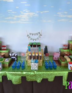 All for the boys minecraft party also birthdays ideas and craft rh pinterest