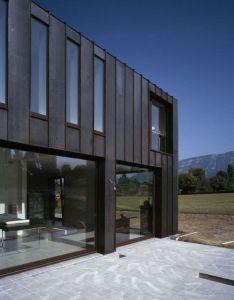 Architecture interiors also villa  cferrari   by atelier   jacques bugna et florian rh pinterest