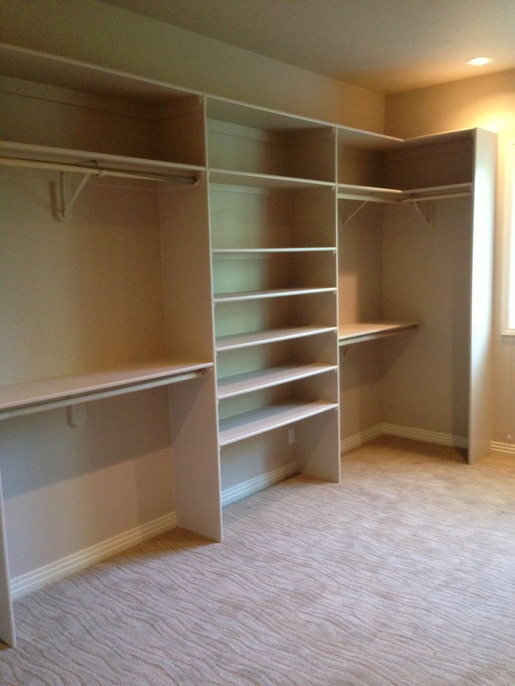 It is simple and easy to assemble the closet organizers