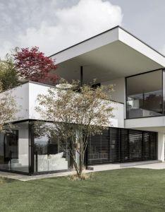 Designed by meier architekten the home is located in uitikon switzerland objekt  cmy architecture should provide quality  also wohnideen interior design einrichtungsideen bilder modern rh pinterest