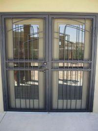 french doors with security door   Door Designs Plans ...