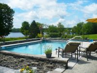 Incredible Keystone Semi-Inground pool completes this ...