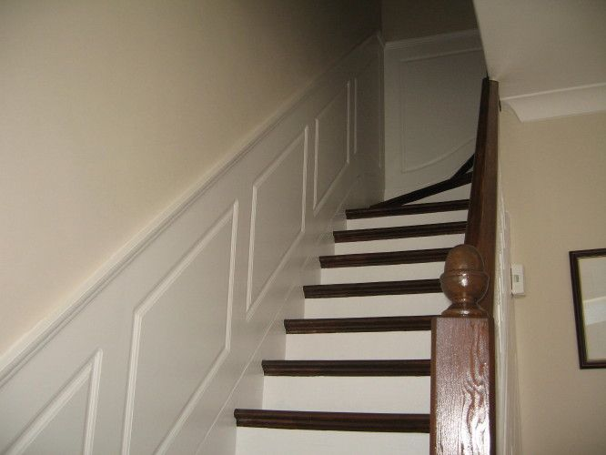decorative staircase walls