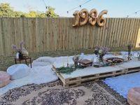 DIY boho style backyard 30th birthday party Bohemian ...