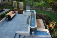 Outdoor designs patio with water features | Outdoor ...