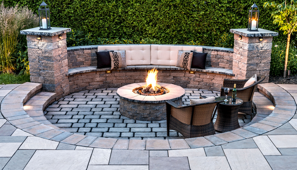 Fire Pits Fire Pits & Outdoor Living Area Ideas For Small