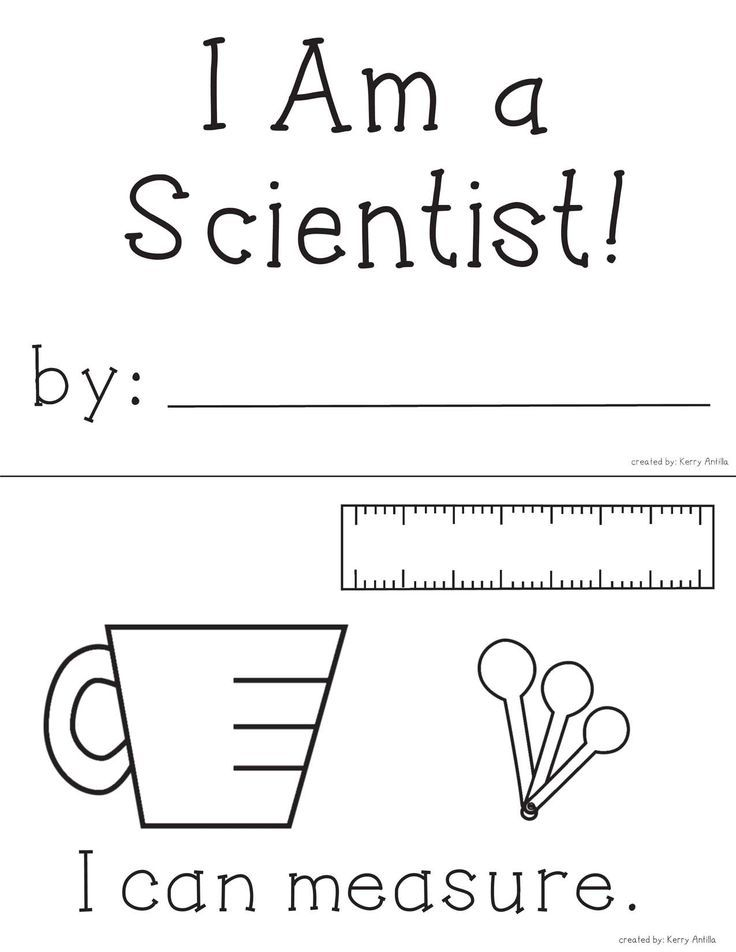 *FREE* I Am a Scientist mini-book- Perfect for introducing