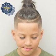 undercut hairstyle kids fade