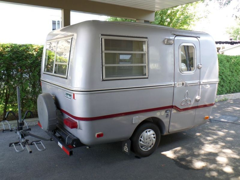 Rv Campers Silver Steel