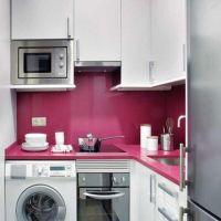 Wallpaper Small Kitchen Design Washing Machine Of Desktop Hd Pics Foxy Space Saving White Wall Mounted Cabinet Hold