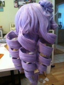 how to make drill curls this will save me when i make my kasane teto wig
