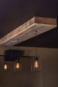 Reclaimed barn wood light fixtures//bar//restaurant //home ...