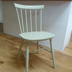 Painted Kitchen Chairs Aid Mixers Bow Back Vintage Chair In Farrow And Ball