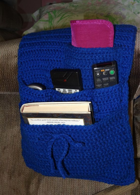 royal blue chairs moving baby chair organizer caddy for arm or recliner, blue, adjustable pockets to hold cell phone ...