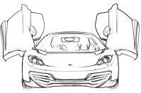 Ferrari Mp412 Italia Coloring Page - Ferrari car coloring ...