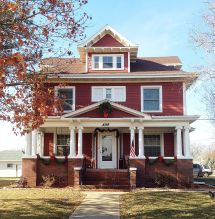 American Foursquare Craftsman Houses