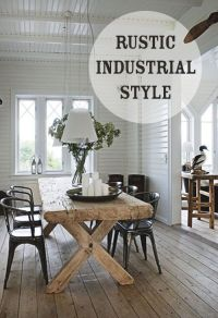 Industrial Farmhouse on Pinterest | Corporate Office Decor ...