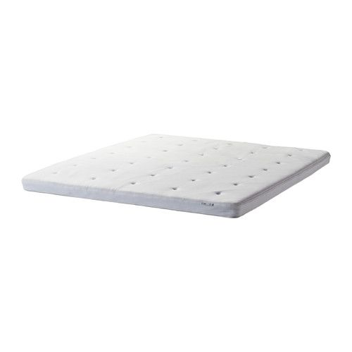 Ikea Tvinde Mattress Topper King A Soft Layer Of Mini Pocket Springs Contours To The Natural Curves Your Body Enhance Comfort
