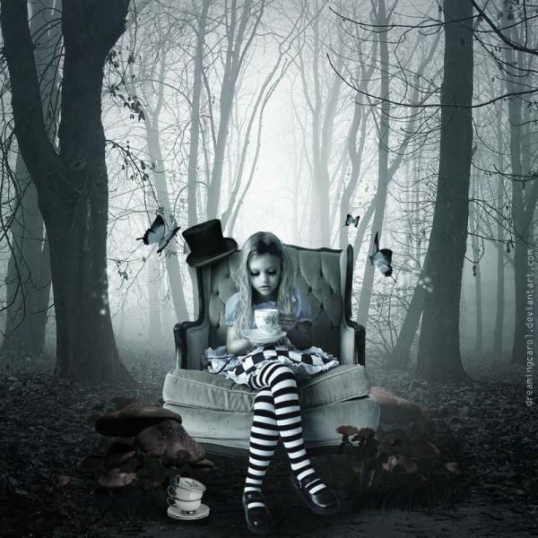 Dark Alice and Wonderland