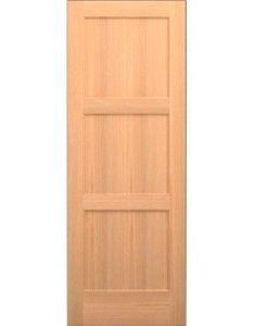 Karona wood panel slab interior door opening width species also rh pinterest